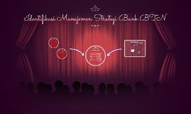 Identifikasi Manajemen Strategi Bank BTN