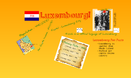 Luxembourg!