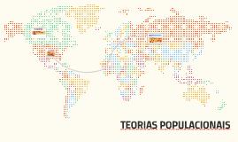 TEORAS POPULACIONAIS