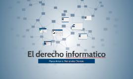 El derecho informatico