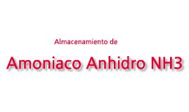 Almacenamiento de Amoniaco