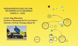 """Copy of """"MEJORAMIENTO DEL FACTOR DE POTENCIA EN SUCURSAL FAMECA LIMA"""