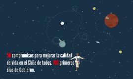 50 compromisos para mejorar la calidad de vida en el Chile d