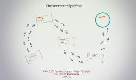Ontwerp analysefase