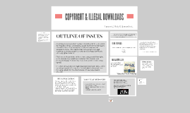 COPYRIGHTS & ILLEGAL DOWNLOADS