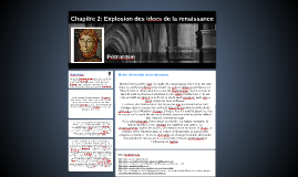Chapitre 2: Explosion des idees de la renaissance