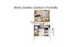 Copy of Maria Cristina Caloian's Portfolio
