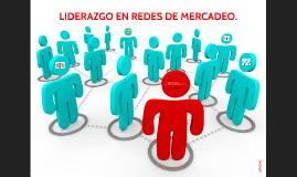 LIDERAZGO EN REDES DE MERCADEO.