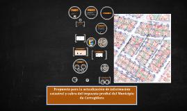 Copy of Propuesta para la actualización de información catastral y c