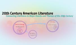 20th Century American Literature