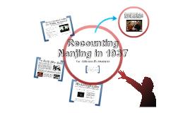 Recounting Nanjing