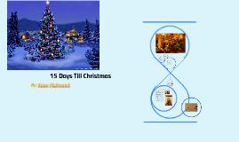 15 Days Till Christmas
