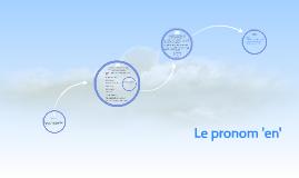 Copy of Le pronom 'en'