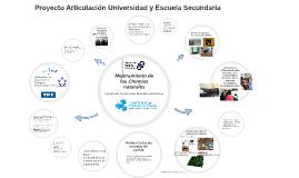 El proyecto: Articulación UNM - Escuelas Secundarias