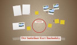 Der Satiriker Kurt Tucholsky