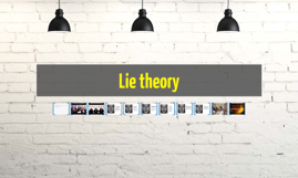 Lie theory