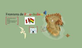 Copy of Frontera de Peru-Bolivia