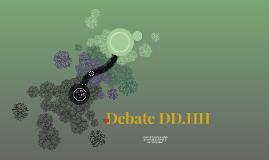 Debate DD.HH