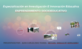 Especialización en Investigación E Innovación Educativa