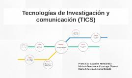 Tecnologías de Investigación y comunicación