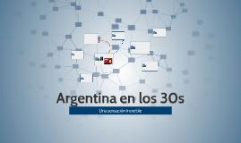 Argentina en los 30s