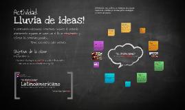 """Copy of EL POPULISMO- DINÁMICA: """"lluvia de ideas"""""""
