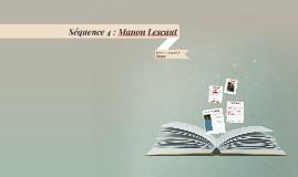 Séquence 4 : Manon Lescaut