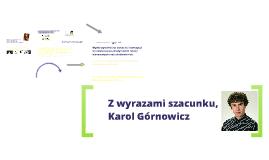 Karol Górnowicz Stypendium z Wyboru