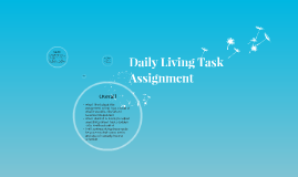 Daily Living Task Assignment