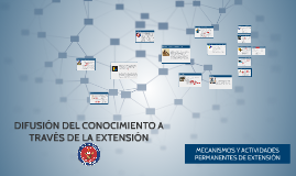 DIFUSIÓN DEL CONOCIMIENTO A TRAVÉS DE LA EXTENSIÓ