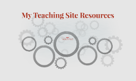 My Teaching Site Resources