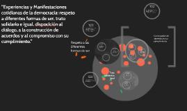 """Copy of """"Experiencias y manifestaciones cotidianas de la democracia"""""""