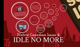 Native Canadian Issues & Idle No More