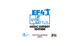 Lip Sync Battle. Music History Edition