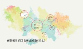Werken met taaltaken in 1.2