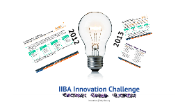 IIBA Innovation 2012-13 (Eng)
