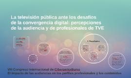 La televisión pública ante los desafíos