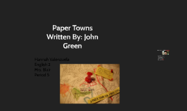 Copy of Paper Towns