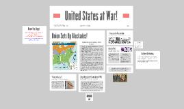 United States at War!