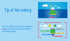 Copy of Free Iceberg prezi by Prezzip