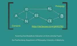 Fostering Interdisciplinary Education on Environmental Topics