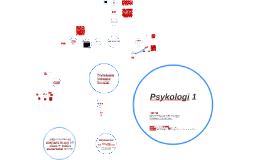Psykologi 1