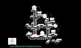 Coordinación Gastronomía