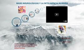 Copy of BASES NEUROLÓGICAS Y LA INTELIGENCIA HUMANA