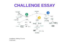 CHALLENGE ESSAY