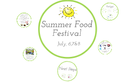 Copy of Summer Food Festival