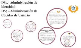 DS5.3 Administración de identidad