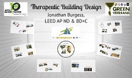 Copy of Therapeutic Building Design