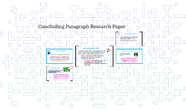 Concluding research paper