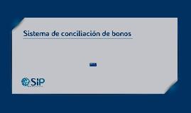 Sistema de Conciliación de Bonos